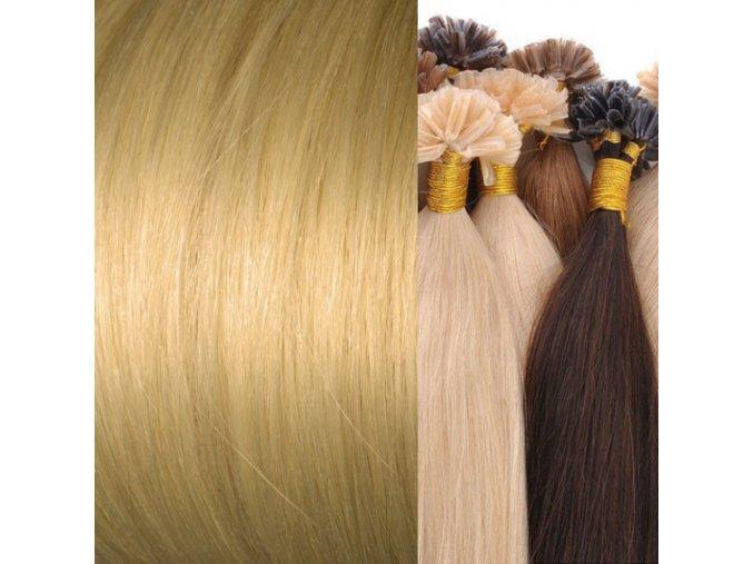 vlasy na keratin blond tmavá