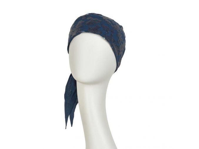 šátek-turban-cali-modrý