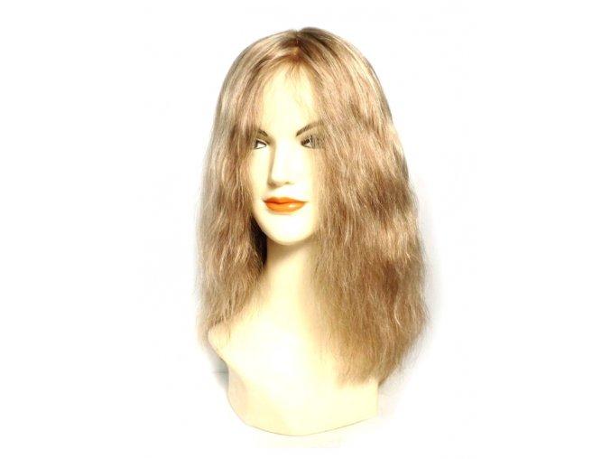 Paruka z pravých vlasů, barva 10E/MB5 - podklad Cheryl, lace front.  Ostřihání paruky a úprava je zdarma.