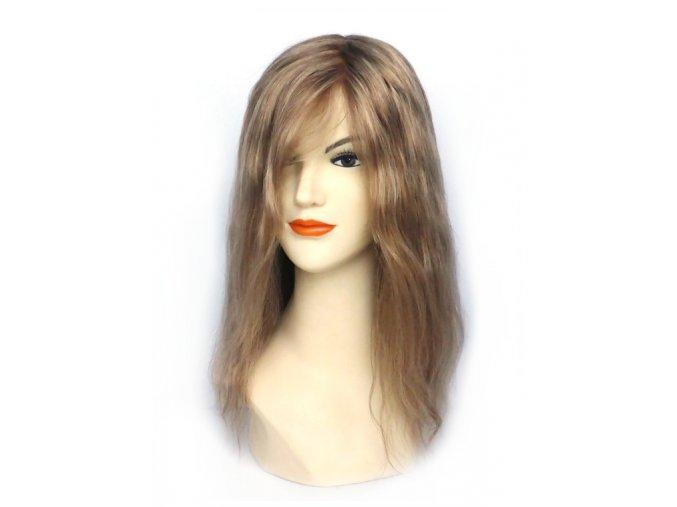 Paruka z indických vlasů, Fantastic 7310E - podklad Cheryl, PU front.  Ostřihání paruky a úprava je zdarma.
