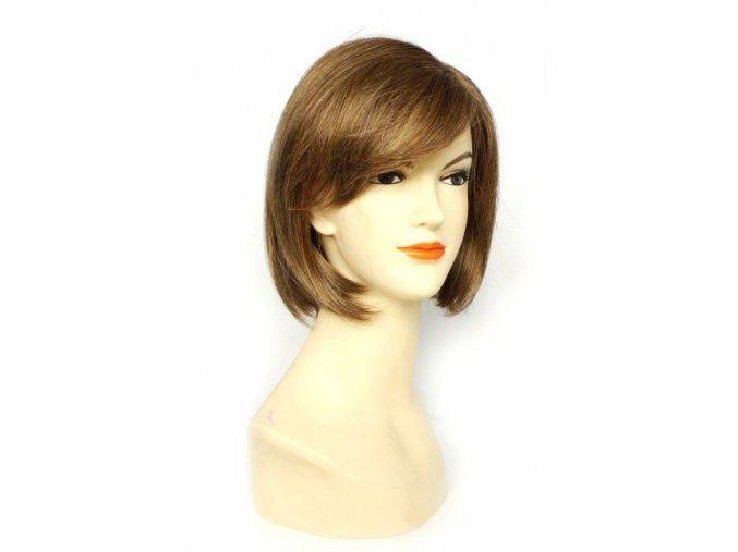Paruka z umělých vlasů CHEMO - VLAŠSKÝ OŘECH