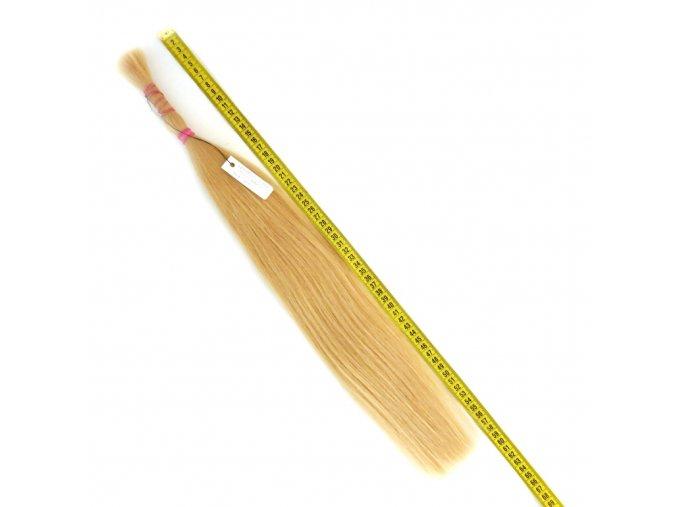 východoevropské vlasy blond 73 gr