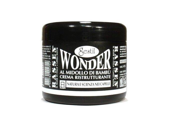 Gestil Wonder 300ml - regenerační maska na vlasy z býčích žláz a výtažků z bambusu