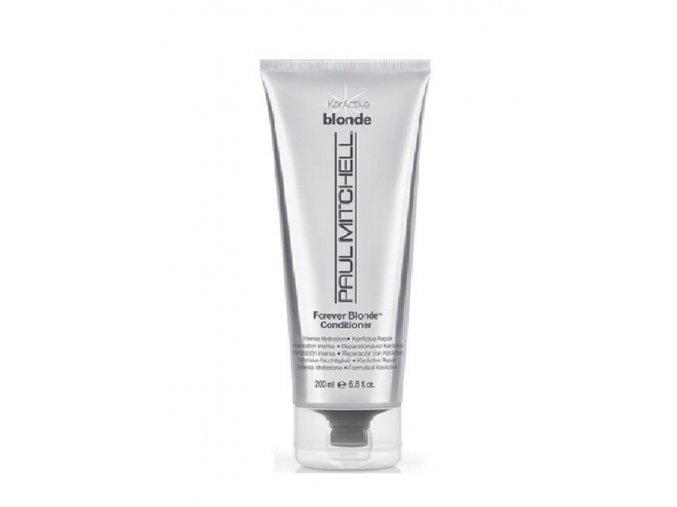 Malé množství vmasírujte do mokrých vlasů, nechte krátce působit, rovnompaul-mitchell-forever-blonde-conditioner
