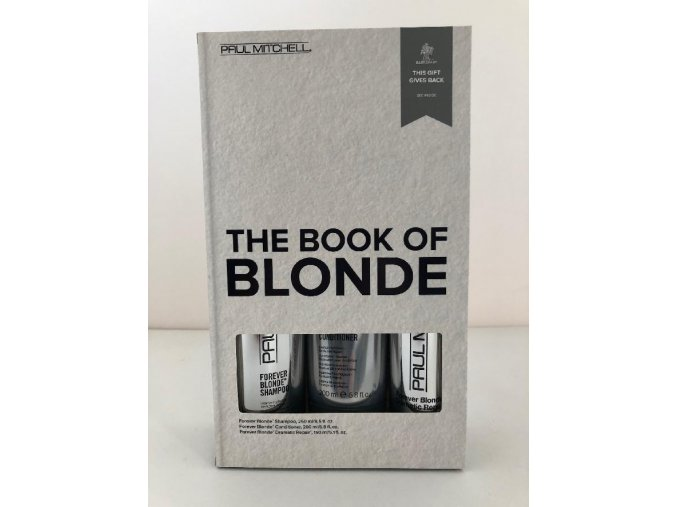 forever blonde all is bright holiday gift set