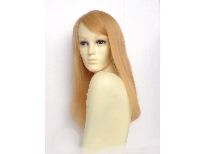 paruka z evropskych vlasu blond dlouha