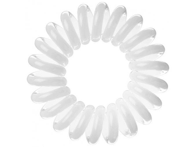 Invisibobble Innocent White - bílá gumička do vlasů nebo stylový náramek