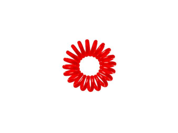 Invisibobble Raspberry Red - červená gumička do vlasů nebo stylový náramek
