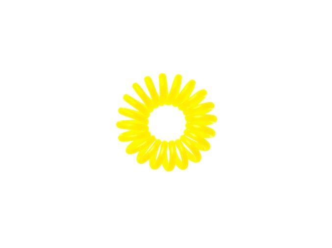 Invisibobble Submarine Yellow - žlutá gumička do vlasů nebo stylový náramek