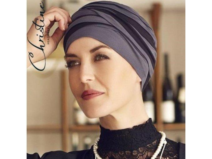 1461 0394 christine headwear turban shanti