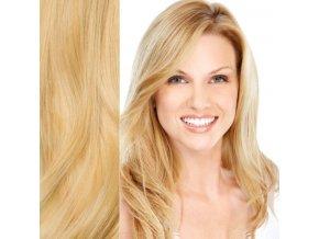 Prodlužování vlasů blond světlá