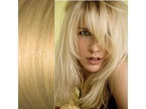 Prodloužení vlasů blond tmavá