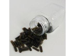 Trubičky PVC na prodlužování vlasů baleníPVC trubičky na prodlužování černá průhledná