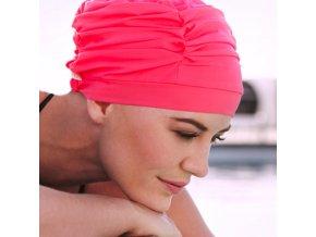 šátek plavecká čepice jako vlasová náhrada