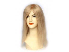Paruka z Indických vlasů, blond platina