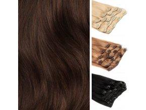 Vychodoevropske vlasy clip in