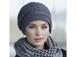pletená čepice moderní dámská