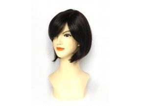 Paruka z umělých vlasů CHEMO - ČERNÁ ESP