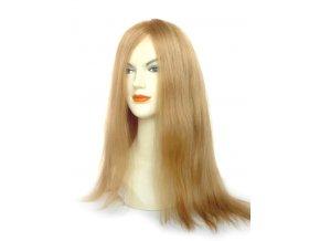 Paruka z východoevropských vlasů, barva zlatá blond - podklad Anastasia