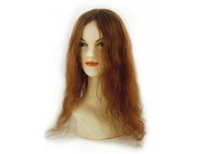 Paruka z východoevropských vlasů, barva zlatá blond