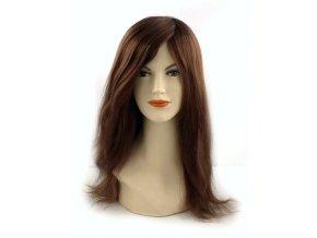 Paruka z evropských vlasů New Cheryl, hnědá.