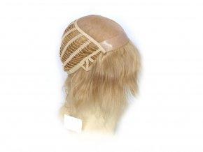 Paruka z Indických vlasů, blond světlá - podklad Cheryl.