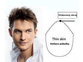 Vlasová integrace - custom Thin Skin.  Ostřihání a úprava je zdarma.