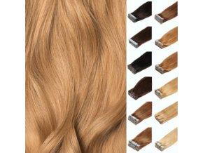 vlasove pasky vychodoevropske vlasy blond zlata pu pasky tapex pasky