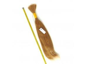 Indické Vlasy Remy, blond zlatá, rovné - 45/50 cm/98 gr.