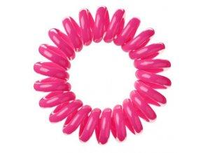 Invisibobble Candy Pink - růžová gumička do vlasů nebo stylový náramek