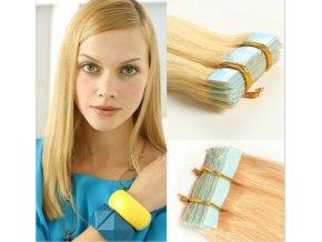 pasky na prodlouzení blond