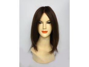 paruka-z-pravych-vlasu-chemo-tmava-cokolada-30-cm
