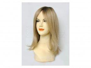 paruka-z-pravych-vlasu-chemo-blond-champagne-tmavy-odrost--30-cm-paruka-z-umelych-vlasu-chemo-champagne-tmavy-odrost--30-cm-