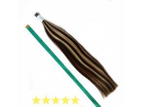 prave vlasy 6,23+10 loreal mix 50cm