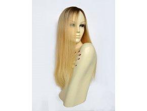 paruka z vychodoevropskych vlasu blond s odrostem
