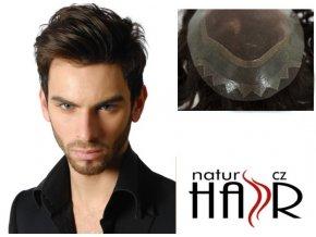 Vlasový systém model Natur - barva hnědá.