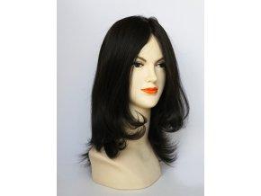 paruka-z-pravych-vlasu-chemoterapie-cerna
