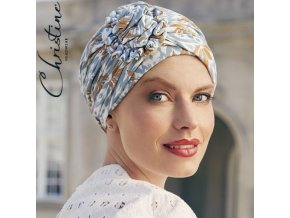 1008 0687 christine headwear turban lotus 1