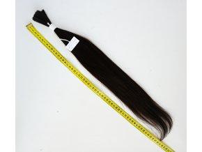 vychodoevropske vlasy tmave hnede 46gr 2070Kc