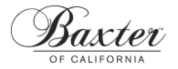 Logo Baxter of California