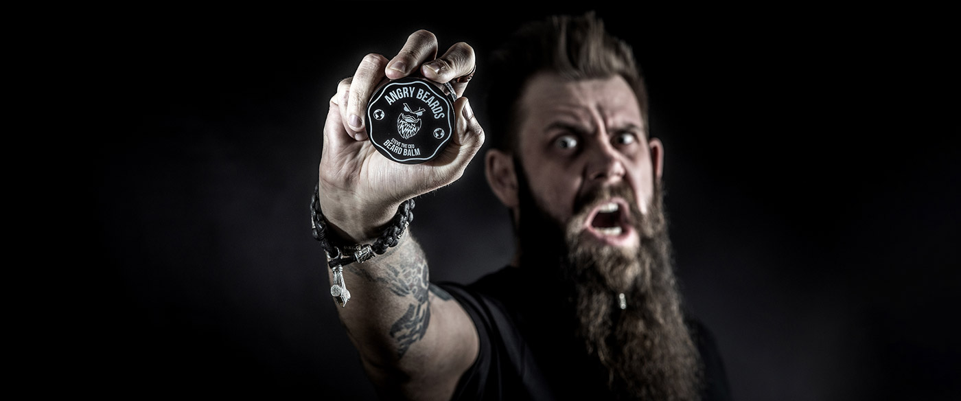 Angry beards beard balm balzam na vousy steve the ceo obrazek