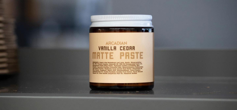 Arcadian-matte-paste-vanilla-cedar-0obrazek
