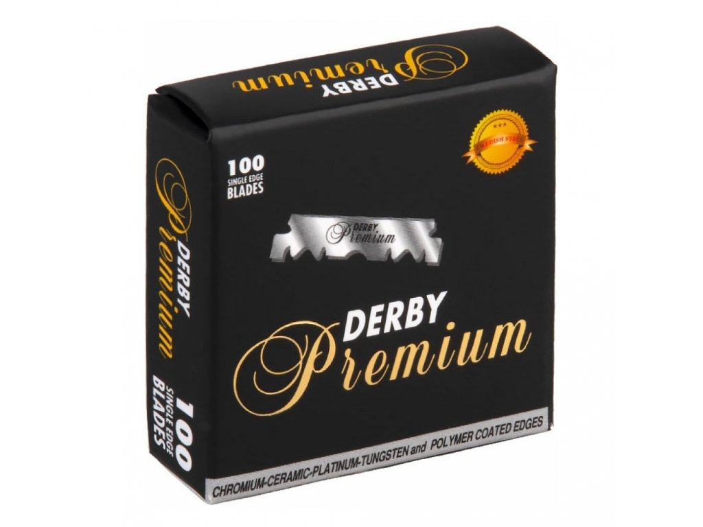 derby premium single edged 1