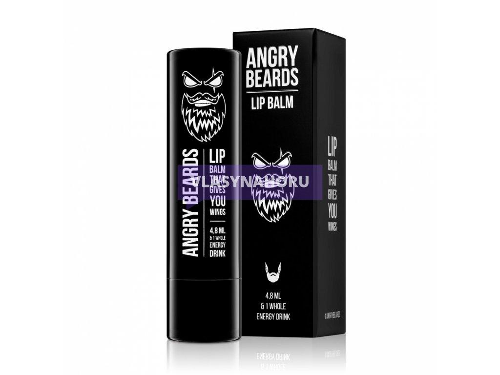 Angry Beards balzám na rty