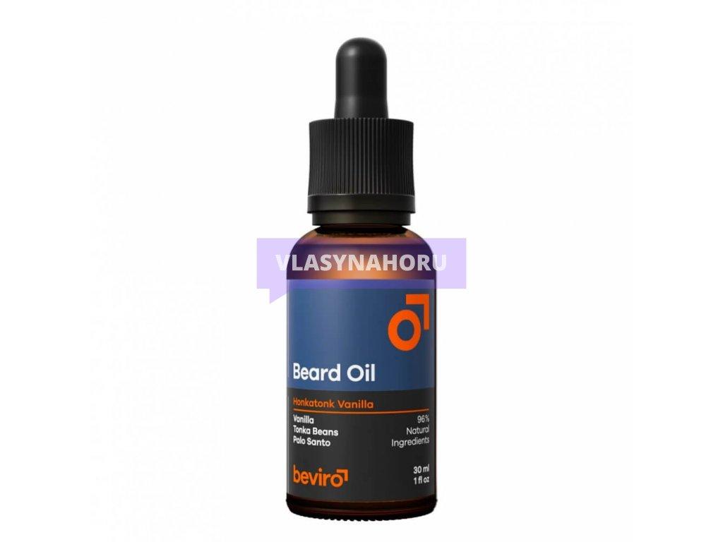 beviro beard oil honkatonk vanilla olej na vousy 01