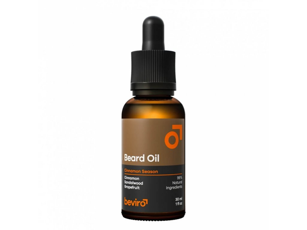 beviro beard oil cinnamon season olej na vousy 01