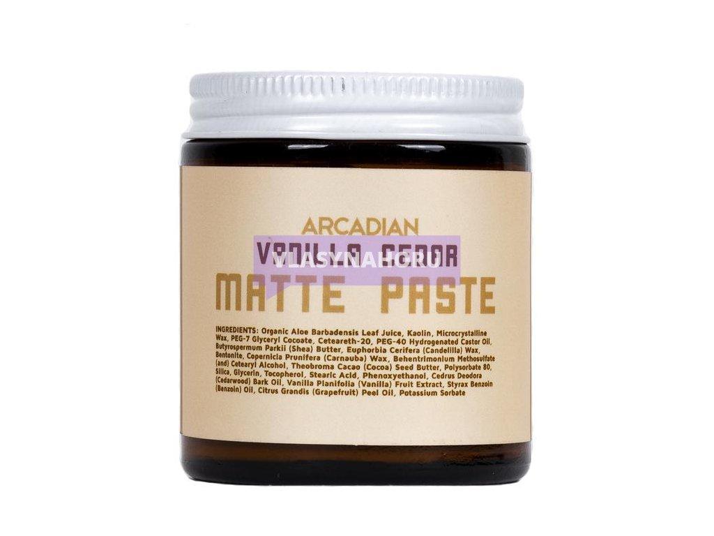 Arcadian matte paste vanilla cedar 01