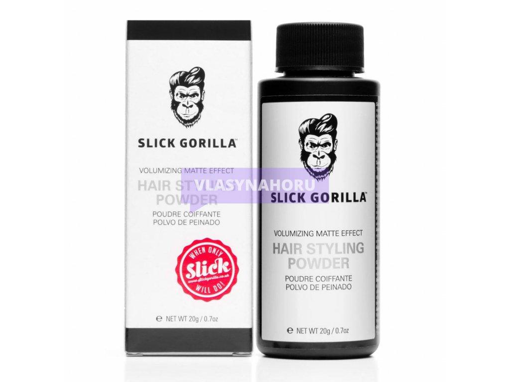 slick gorilla pudr na vlasy 01