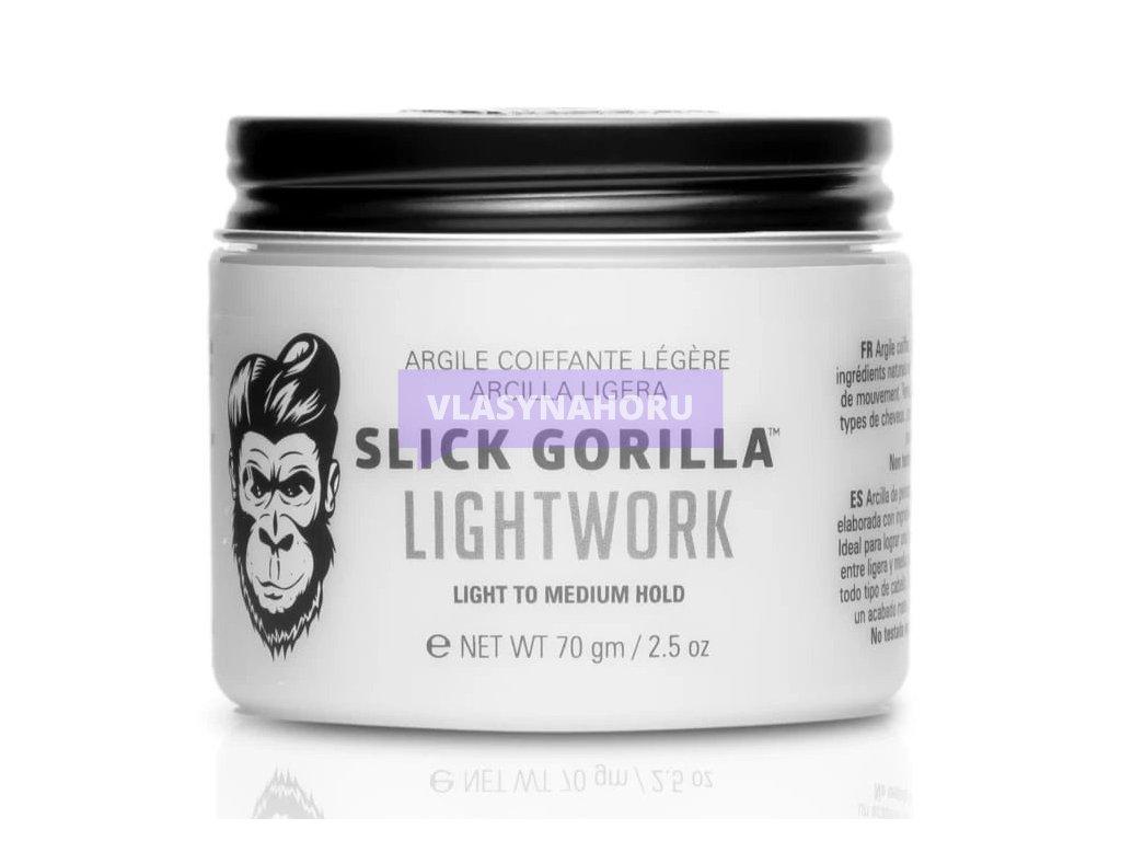 slick gorilla lightwork hlina na vlasy 01