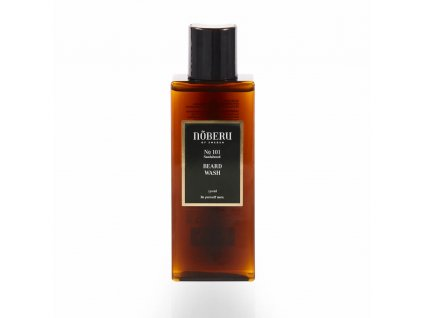 noberu beard wash sandalwood